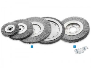 Single Segment Wheel Brushes, Silicon Carbide Bristles1a